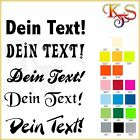 ♡♥ Bügelbild Bügelbilder Hotfix Name ABC  eigener Text 10 cm Flex Folie 18 Fb ♡♥