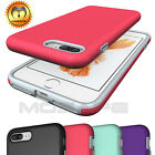 For iPhone 7/7 Plus Rugged Protective Shockproof Hybrid Rubber Case Hard Cover