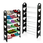 6 Tier Shoe Rack Storage Stand Organiser Cabinet Shelf Stackable Shoes