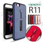 NEW Shockproof Magnetic Ring Holder Stand Soft TPU Case Cover For Oppo R11