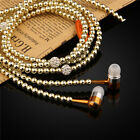 Necklace Bass Stereo W/Mic Earpieces Earphone For iphone 6s Plus Huawei Samsung