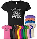 If I Collapse Womens T Shirt Can Some One Pause My Strava Cycling Top Tee TShirt