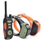 Waterproof Remote Dog Shock Trainer Collars With Beep Vibrating Electric Shock