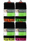 12 Mens Pierre Klein Cotton Boxer Shorts Trunks Underwear / Neon / All Sizes