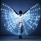 Women LED Light Isis Wings Belly Dance Costumes 360 Egyptian Sticks Performance