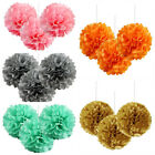 Small Paper POM POMS Reception Birthday Party Wedding Crafts Decorations SALE