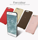 LENUO Premium PU Leather Case Protective Back Skin Slim Case For Huawei P10 Case