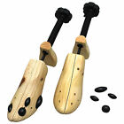 1-2Pcs Ladies Women Wooden Adjustable 2-Way Shoe Stretcher Shaper Tree US (5-10)
