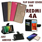 DIARY WALLET STYLE FLIP FLAP FOLIO COVER CASE For XIAOMI MI REDMI 4A