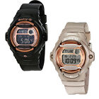 Casio Baby G Digital Dial Black Resin Ladies Watch  - Choose color