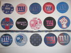 New York Giants mix flat back buttons or pin badges cabochons embellish magnets $6.95 USD on eBay
