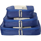 Mancini Leather Goods Pack'Em In Travel Packing Cubes Travel Organizer NEW