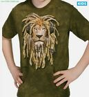 DJ Rasta Lion T-Shirt / Green Tie Dye / Rock Tee,Cool Kids Tee