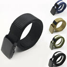 Men's Fashion Sport Tactical Military Nylon Buckle Waist Belt Waistband Clever