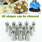 Russian Torch Ball Flower Cake Decorating Pastry Tips Icing Piping Cream Nozzles