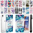 "For LG Tribute HD LS676 X Style 5"" Ultra Thin Clear TPU Case Phone Cover + Pen"