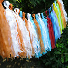 Baby Shower Tissue Pom Pom Tassel Set Banner Paper Bunting Hanging Party Garland