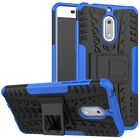 Nokia 6 Case,Yiakeng Dual Layer Shockproof Wallet Armor Hard Glitter Silicone