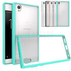 Slim Hybrid Skin Clear TPU Hard Case Shockproof  Back Cover For Sony Xperia L1