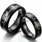 Tungsten Carbide Mens Womens Comfort Fit Band Ring Love Wedding Band Engagement