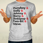 The outsider t-shirt ponyboy stay gold shirt dally johnny stay golden tee AL071