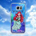 PERSONALISED/PRINCESS/VOGUE/BELLE/ARIEL/HARD PHONE CASE/COVER/SHELL FOR SAMSUNG
