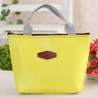 Portable Insulated Thermal Cooler Lunch Box Carry Tote Storage Bag Case Picnic