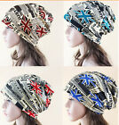 Women UK Flag Hat Men Hip Hop Turban Pullover Cap Girl Beanie Casual Caps Girls