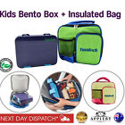 Bento Lunch Box Kids Insulated Carry Cooler Bag School Picnic Thermal Tote