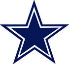 Dallas Cowboys Vinyl Decal / Sticker 5 sizes!!