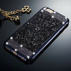 Luxury Bling Glitter Diamond Soft TPU Case Skin Cover For iPhone Samsung Galaxy фото