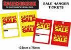 sale/swing tickets tags hanger labels clearance was now price gun