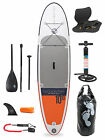 "Sport Air 10'10 x 4"" Inflatable Paddle Board SUP + Deluxe Package Two Bare Feet"