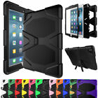 For Apple iPad Tablet Shockproof Military Rubber Hard Case +