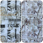 Musical Moments 100% Cotton Fabric,  sold per half metre 112cm wide