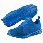 Puma Carson Runner Knit Blue Trainers for Men Sport Gym Jog Footwear Brand New