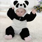 Baby Boy Girl Panda Halloween Fancy Dress WINTER WARM Party Costume Outfit Cloth