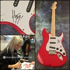 GFA Paramore Rock Star * HAYLEY WILLIAMS * Signed Electric Guitar PROOF H3 COA