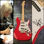 GFA Paramore Rock Star * HAYLEY WILLIAMS * Signed Electric Guitar PROOF AD3 COA