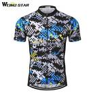 Cycling Jersey Weimostar Men Racing Top Breathable mtb Bike Jersey Short Sleeve
