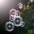 10PCS Fillable Transparent Ball Christmas Tree Decor Ornament Bauble Candy Box