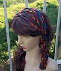 Multicolored Handmade Crochet Headband Boho style Hair Acces