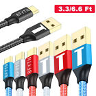 USB-C 3.1 Type-C 3A Fast Charging Cable Charger Cord For OnePlus 3/2 Samsung S8+