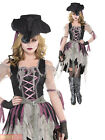 Ladies Haunted Pirate Wench Costume Adult Buccaneer Halloween Fancy Dress Outfit