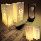 10PCS Paper Candle Bag Lantern Wedding Garden Outdoor Path Tea Light Party Decor