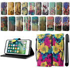 "For Apple iPhone 7 4.7"" Vintage Design ID Card Wallet Cover Case Kickstand + Pen"