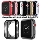Soft TPU Electroplate Bumper Frame Protective Case Cover For Apple Watch 38/42mm