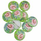 Spongebob Squarepants Gary The Snail MEOW Official Button Pin Badges