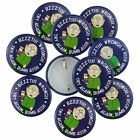 South Park Bzzzt! Wrong! Try Again Dumb Ass! Official Button Pin Badges