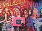 signed SNSD autographed 2017 the 6th album Holiday Night CD  Korean 082017